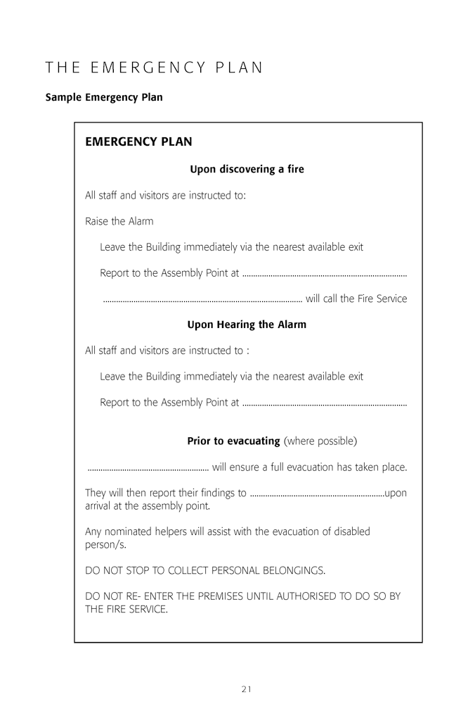 Fire safety log book the fire safety training company for Fire alarm log book template